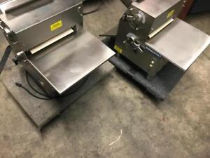 2 Somerset double pass dough counter top sheeters ( like new ! ) only $1995 ! Special offer !