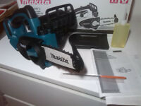 new makita 18v chainsaw duc122z. duc122 bare tool