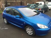 PEUGEOT 307 2005 5DR FULL YEAR MOT EXCELLENT CONDITION