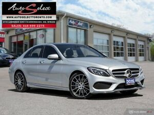 2015 Mercedes-Benz C-Class 4Matic C400 AWD ONLY 68K! **TECHNO...