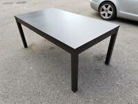 IKEA Bjursta Black Extending Table 175-260cm FREE DELIVERY 751