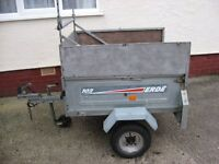 ERDE 102 TIPPING TRAILER