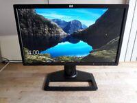 HP ZR22w 22 inch Wide Screen Full HD Computer Monitor