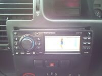 CAR STEREO RIPSPEED DVD 733B PLAYER PLAY DVD/CD/USB/SD CARD/AUX/RADIO/FM/AM
