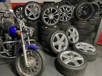 "19"" inch genuine Audi q3 rs6 segment pealers alloys wheels 5x112 tt a6 Vw caddy s4"