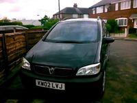 Vauxhall zafia 7seater diesel