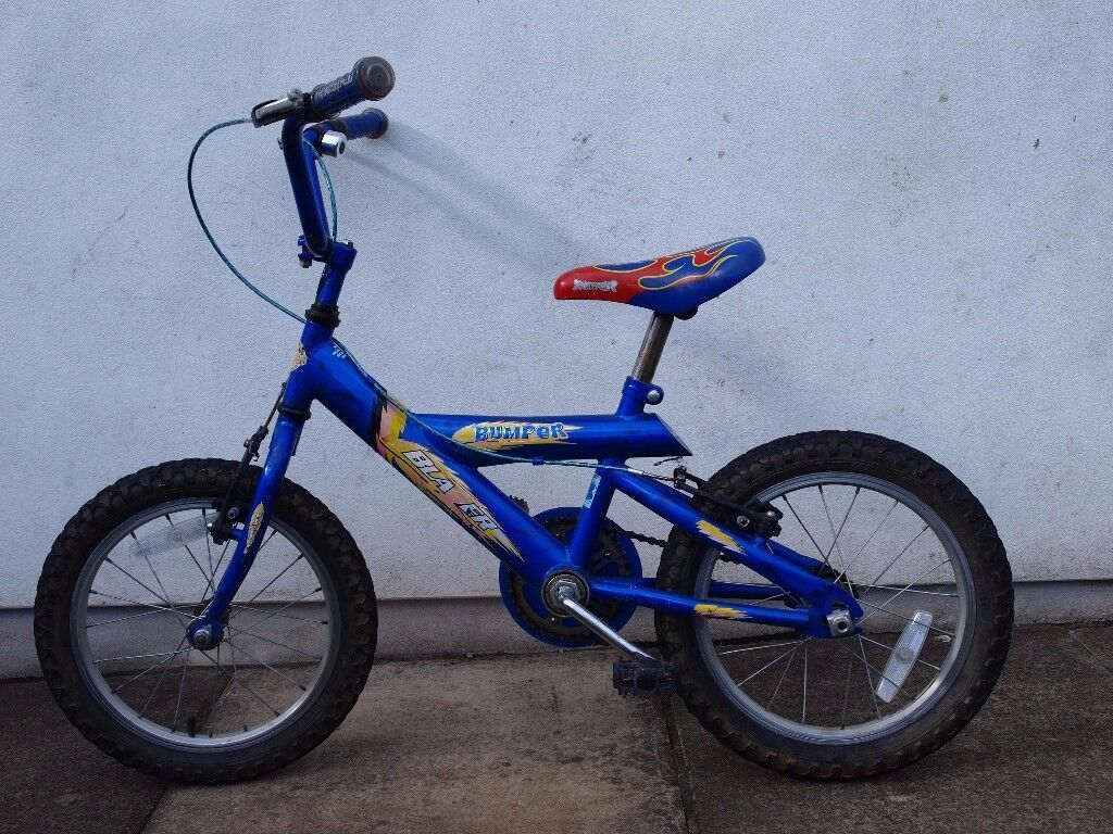 "Kids Bumper Blazer 16"" Wheel bike"
