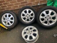 """15"""" Vauxhall Alloy rims - 4 stud"""