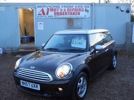 MINI CLUBMAN COOPER 2007 57 1.6 LTR PETROL 1 YEAR FRESH MOT WARRANTIED CLEAN CAR!!!