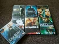 7 DVD'S great films