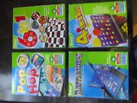 A selection of travel games