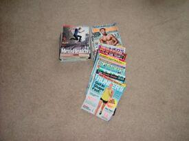 Magazines.