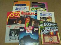 Huge selection of Vinyl Pop and Rock Compilation Albums