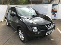 62 Plate Nissan Juke 1.5 Dci Tekna Leather* Sat Nav * Bluetooth * Cruise * Low Mileage, Warranty