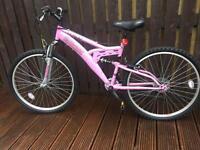 Female 18 gear mountain bike