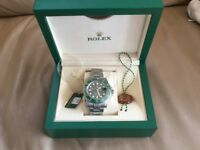 Genuine Rolex Submariner - Hulk box and papers