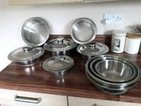 Kuhn Ricon professional cookware set