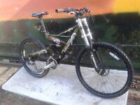 Silverfox SFX Pit Viper Disk Brake Full Suspension Downhill Mountain Bike.