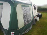 Fleetwood garland caravan