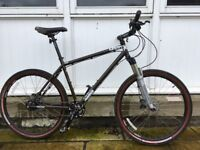 Charge duster eight mountain bike, medium frame, nearly new condition