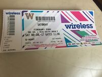 Wireless Saturday Ticket £110