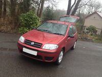 FIAT PUNTO ACTIVE LOW MILES! FOR YEAR /NEW MOT IDEAL SIZE 1st/ 2nd CAR/LOW INSURANCE/FIESTA/CLIO