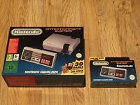 Nintendo Classic Mini NES + Extra Controller (NEW / UNOPENED)