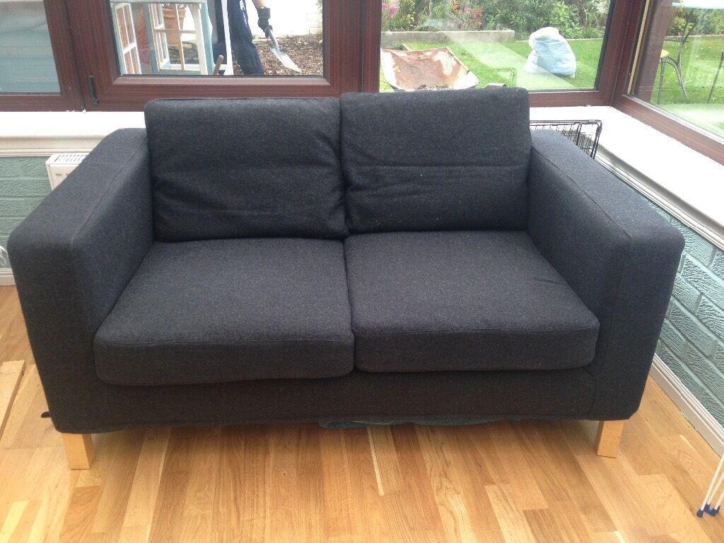 Black Ikea Karlanda Sofa In Liberton Edinburgh Gumtree