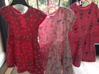 New and used baby girl dresses up to 18-24 months
