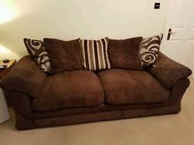 2 x Three seater Sofa from Harvey's