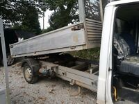 tipper truck fiat tipper good condition low mileage