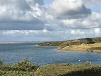 Luxury caravan holiday home for sale on stunning sea view pitch in Weymouth Dorset