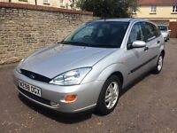 2003 FORD FOCUS 1.6 GHIA 5dr, LOW MILES, NEW MOT, SERVICE HISTORY.