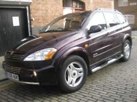 SSANGYONG KYRON 2.0 DIESEL AUTOMATIC 2006 ••••• 5 DOOR 4X4 JEEP MPV •••• SIMILLAR TO MERCEDES ML270