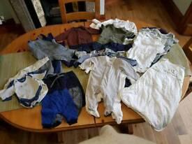 0-6 baby boy clothes bundle
