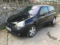 2004(04) - Renault Clio Dynamique 1.4 16V 3dr , 12 Month MOT