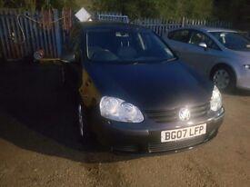 URGENT!!! Volkswagen Golf Low mile 59600!!!
