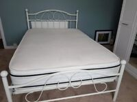 4ft bed and mattress w/ memory top - both less then 12 months old