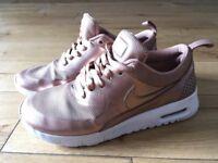 Rose Gold Nike Air UK size 3