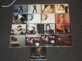 mariah carey job lot cd singles 18.