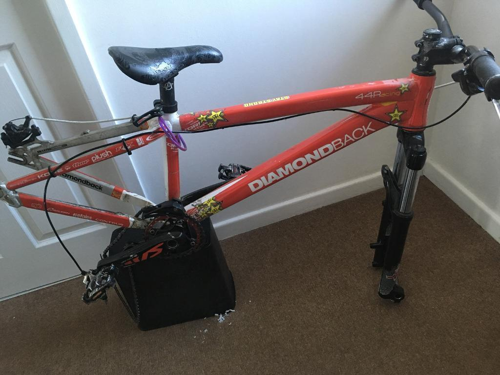 Diamondbacks dirt jump frame, forks and bars | in Bradford, West ...