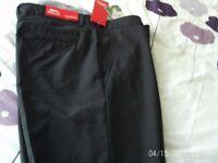 New Slazenger Mens Golf Trousers --- Size 36 Reg -- Weymouth