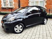 2009 TOYOTA AYGO 10 VVT-I BLACK MMT **AUTOMATIC** 1 OWNER** SHOWROOM CONDITION