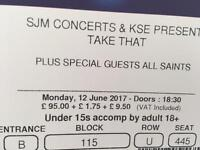 Reduced: Take that 12/06 Block 115 (x 2 tickets)