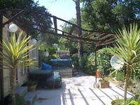 Mobile home South of France. 4* site open all year, 2 bedroom fully equipped located Argeles sur Mer