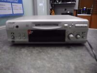 Sony MDS-S707 Minidisc Player With Remote