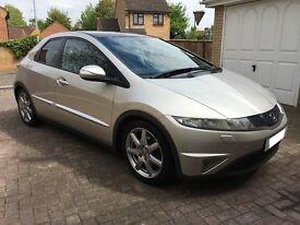 2006 (56) Honda Civic 1.8 EX I-VTEC Semi-Auto 5DR Silver * All Factory Extras! MUST SEE! *
