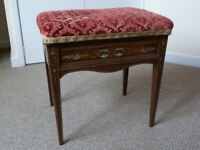 Piano stool - antique