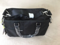 Melobaby baby Changing Bag Black - MELOTOTE LUXE NOIR - BRAND NEW - PUTNEY SW15