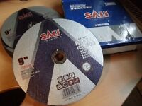 "Quality 9"" grinder blades 2.0mm (2.5mm) - can deliver locally."